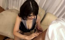 Voluptuous Oriental Milf Reveals Her Fabulous Blowjob Skills
