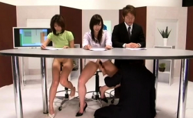 Exciting Japanese Babes Get Their Hairy Slits Fucked Deep