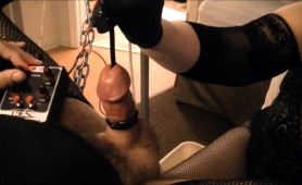 kinky-guy-has-a-busty-blonde-dominatrix-punishing-his-cock