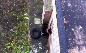 Street Voyeur Finds A Horny Russian Couple Having Wild Sex