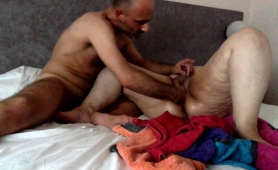 slutty-granny-with-big-boobs-takes-a-fist-in-her-tight-peach