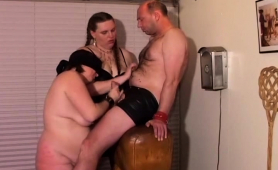 chunky-mature-couple-trying-fetish-sex-with-another-girl