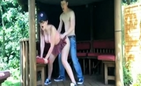 Stacked Amateur Babe With Sexy Legs Gets Banged Doggystyle